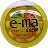 UHAピピン e-maのど飴容器フレッシュシトラス 33g×6個