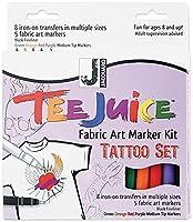 Tee Juice Fabric Art Marker Kit-Tattoo (並行輸入品)