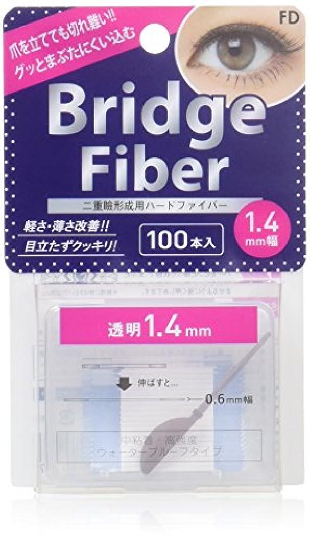 線ギネス魂エフディ ブリッジファイバーII クリア 1.4mm