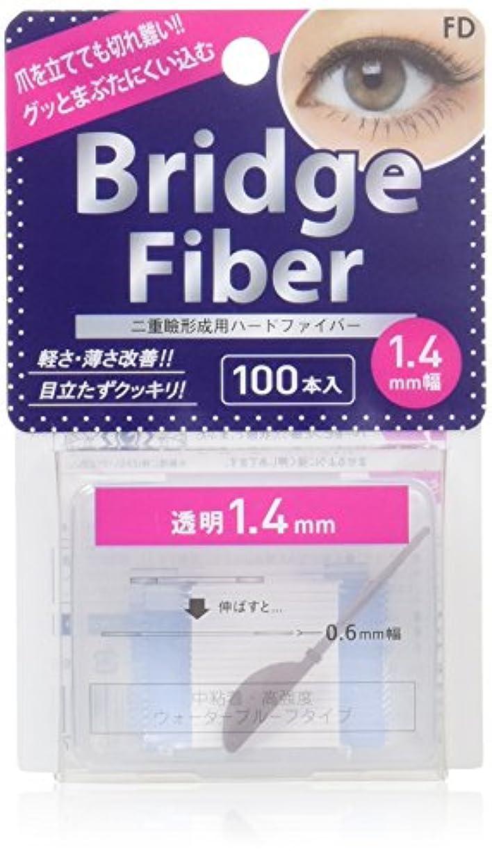 例示するコーデリア次エフディ ブリッジファイバーII クリア 1.4mm