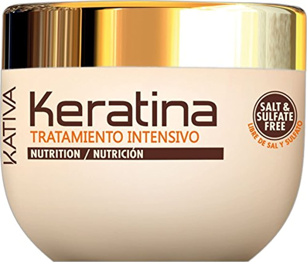 より多いキャンパスナットKativa Keratina栄養マスク500ミリリットル。