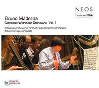 Maderna: Complete Works for Orchestra, Vol. 1 (2010-01-26)