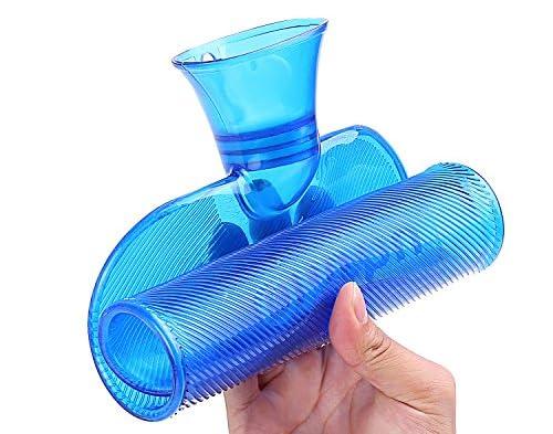Ohuhu 湯たんぽ 防寒 高品質PVC 水枕 2.0L ブルー