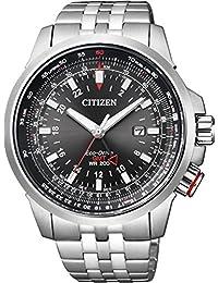 [シチズン]CITIZEN 腕時計 PROMASTER プロマスター エコ・ドライブ スカイシリーズ GMT BJ7071-54E メンズ