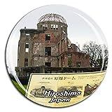 原爆ドーム広島日本冷蔵庫マグネット3dクリスタルガラス観光都市旅行お土産コレクションギフト強力冷蔵庫ステッカー