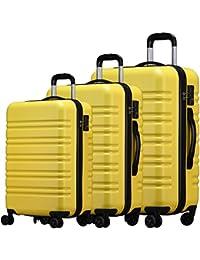 (ラッキーパンダ) luckypanda【1年間修理保証】TY8098 大型+中型+小型 3点セット スーツケース 軽量 TSAロック ファスナー キャリーケース キャリーバッグ 機内持込