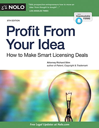 Download Profit from Your Idea: How to Make Smart Licensing Deals 1413320570