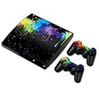 Linyuan 安定した品質 Multi-style Skin Sticker Cover for PS3 PlayStation 3 Slim+2 Controller