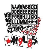 """のセット421–5"""" Tall Letters"""