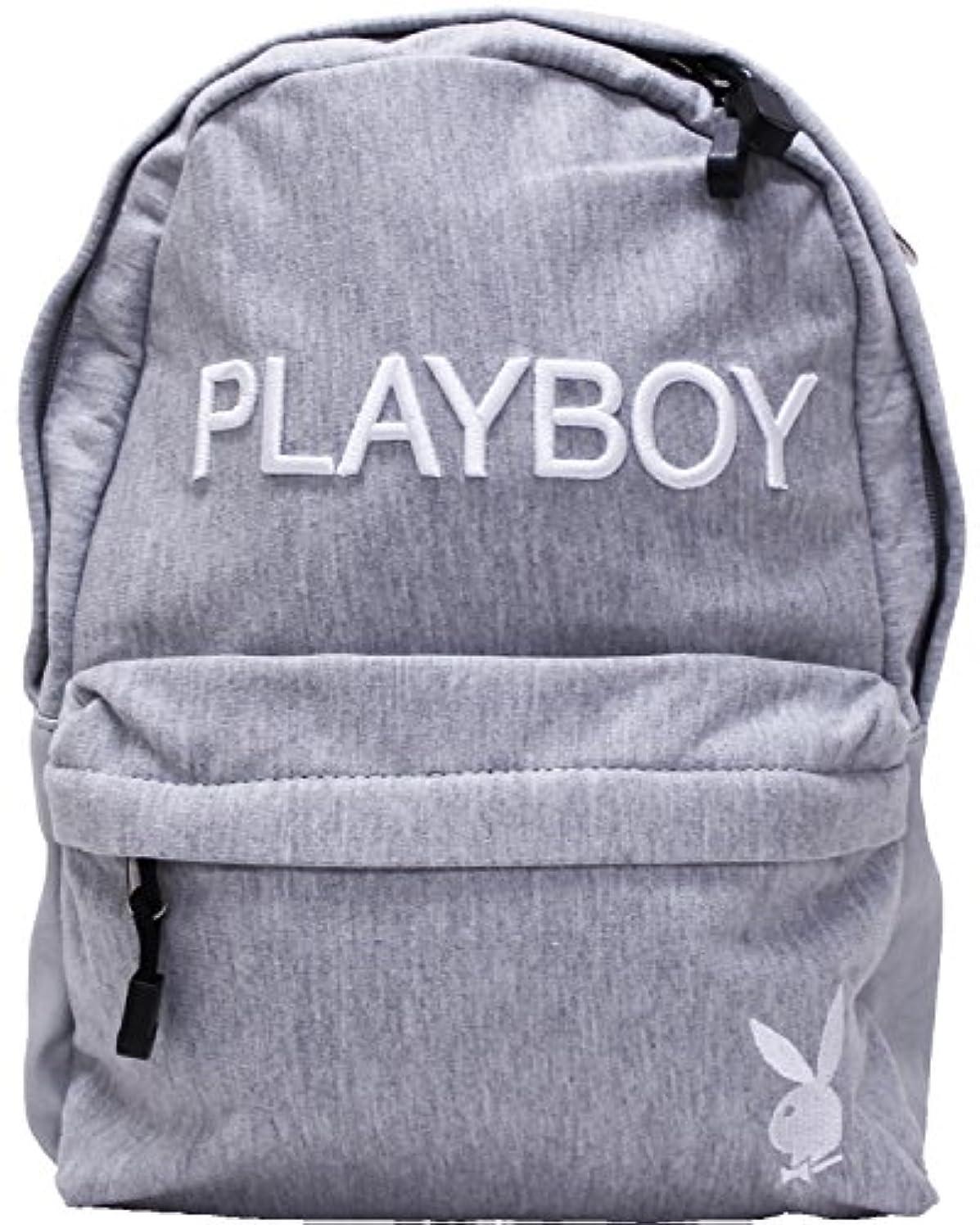 公式フィットミント(プレイボーイ)PLAYBOY KIDS(キッズ) スウェット立体ロゴ刺繍リュック(デイパック リュックサック)