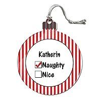 Katherin is いたずらなアクリルクリスマスオーナメント