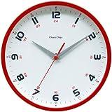 Chara Chips (キャラチップス)  連続秒針 アナログクォーツ掛け時計 CCU10R