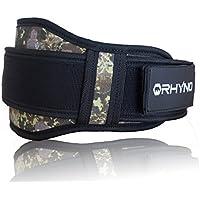 RHYNO(ライノ) リフティングベルト ウエイト トレーニング ベルト 筋トレ 用/パッド 入り 腰 サポート/女性 男性 サイズ 選べる柄