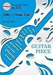 ギターピースGP232 SUN c/w Week End by 星野源(ギター&ヴォーカル譜) (Guitar piece series)