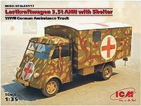 ICM 1/35 ルノー AHN 3.5t ドイツ野戦救急車 プラモデル