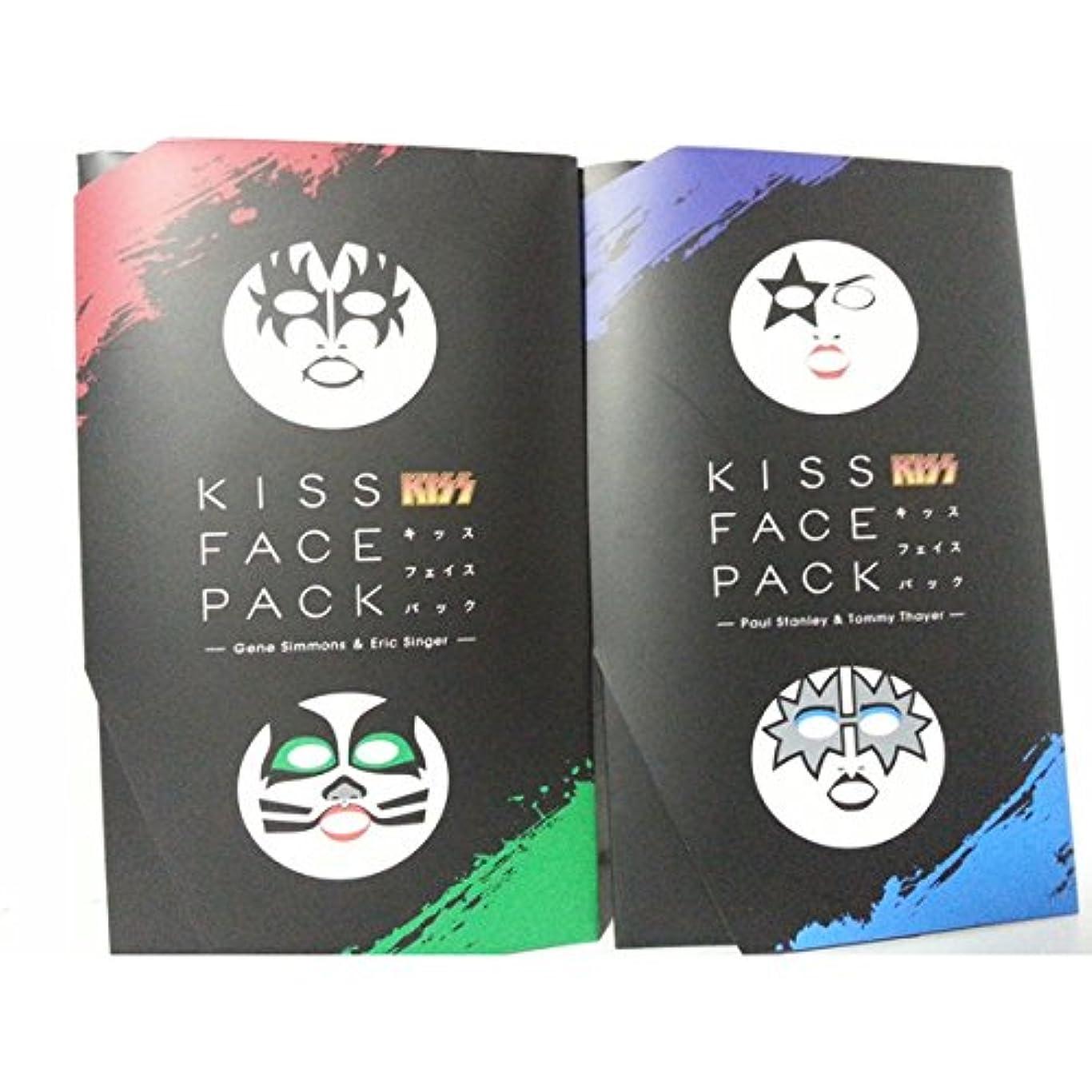 石の通信網テレビ局KISSフェイスパックセット KISS FACE PACK / ジーン ? シモンズ ポール ? スタンレー エリック ? シンガー トミー ? セイヤー セット