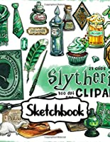 Sketchbook: Potterhead Magical Adventure Series Movie Comic Non Science Soft Glossy Sketchbook with Blank Paper for Taking Notes Writing Workbook for Teens and Children Students School Kids Inexpensive Gift For Boys and Girls