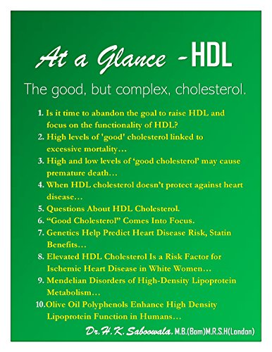 """At a Glance - HDL The good, but complex, cholesterol."" (English Edition)"