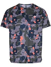 アイモーション テック Tシャツ 390/マルチカラーカモプリント S