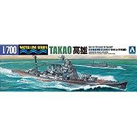 青島文化教材社 1/700 ウォーターラインシリーズ 日本海軍 重巡洋艦 高雄 1944 プラモデル 337