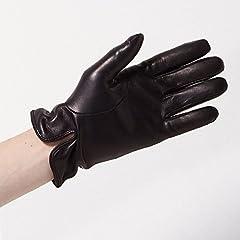 Goat Nappa Gloves (Ships) 118-73-0139: Navy
