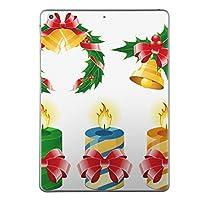 第2世代 iPad Pro 10.5 inch インチ 共通 スキンシール apple アップル アイパッド プロ A1701 A1709 タブレット tablet シール ステッカー ケース 保護シール 背面 人気 単品 おしゃれ クリスマス リース リボン 009936