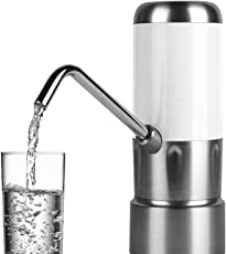 電動 ウォーターポンプ 電気式飲料水ポンプ 充電式電池付き 5ガロンのボトル入りの水に適しています
