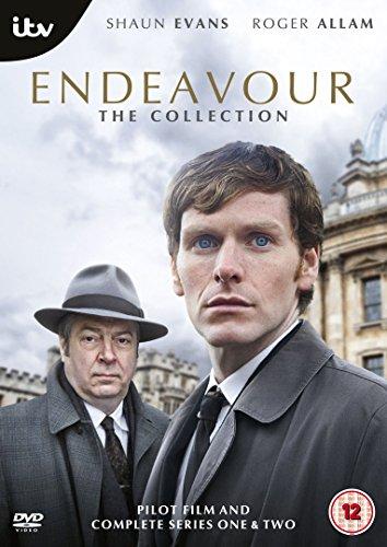 Endeavour(新米刑事モース)The Collection パイロット+シリーズ1+シリーズ2 DVD5枚組[PAL-UK]