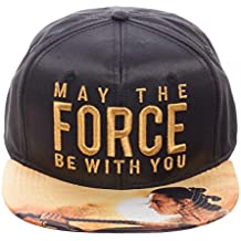Star Wars: May The Force - Metallic Embroidered Satin SnapbackCap