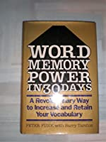 Word Memory Power In 30 Days
