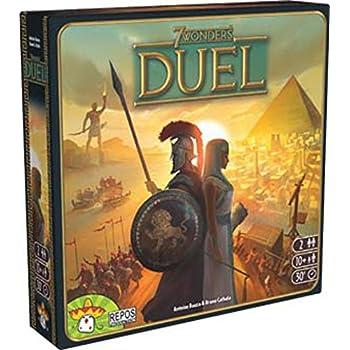 世界の七不思議デュエル (7 Wonders: Duel) 多言語版 ボードゲーム