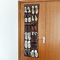 Welland 24ポケットをドアのハンギング靴オーガナイザーbreakthableポケット靴ストレージ