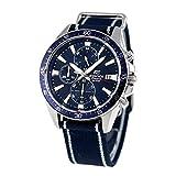 [カシオ エディフィス]CASIO EDIFICE クロノグラフ 海外モデル メンズ 腕時計 EFR-546C-2AVUEF クオーツ ブルー並行輸入品 [並行輸入品]