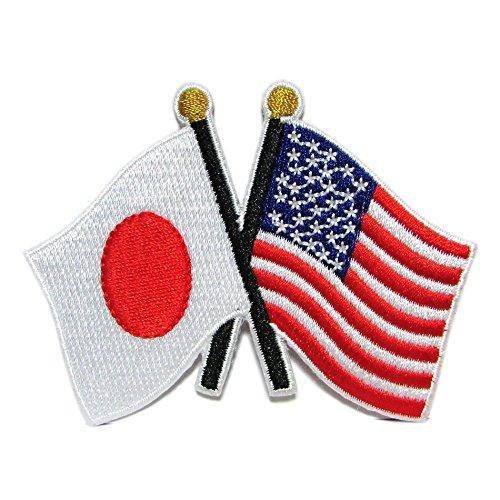 自衛隊グッズ ワッペン 日米友好旗