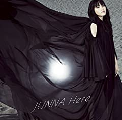 Steppin' Out♪JUNNAのCDジャケット