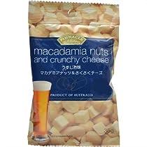 ピナクル マカデミアナッツ&さくさくチーズ うすじお味 35g