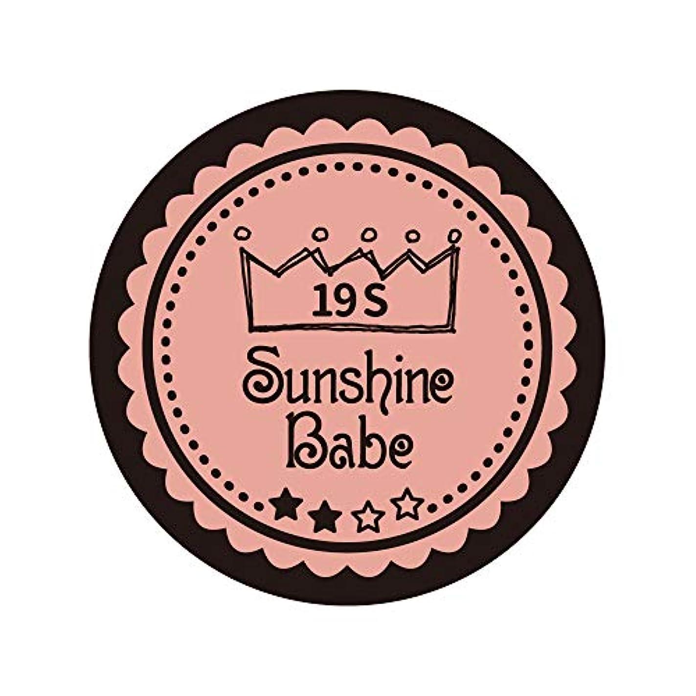 パリティ樫の木動機Sunshine Babe カラージェル 19S ローズカシュ 2.7g UV/LED対応
