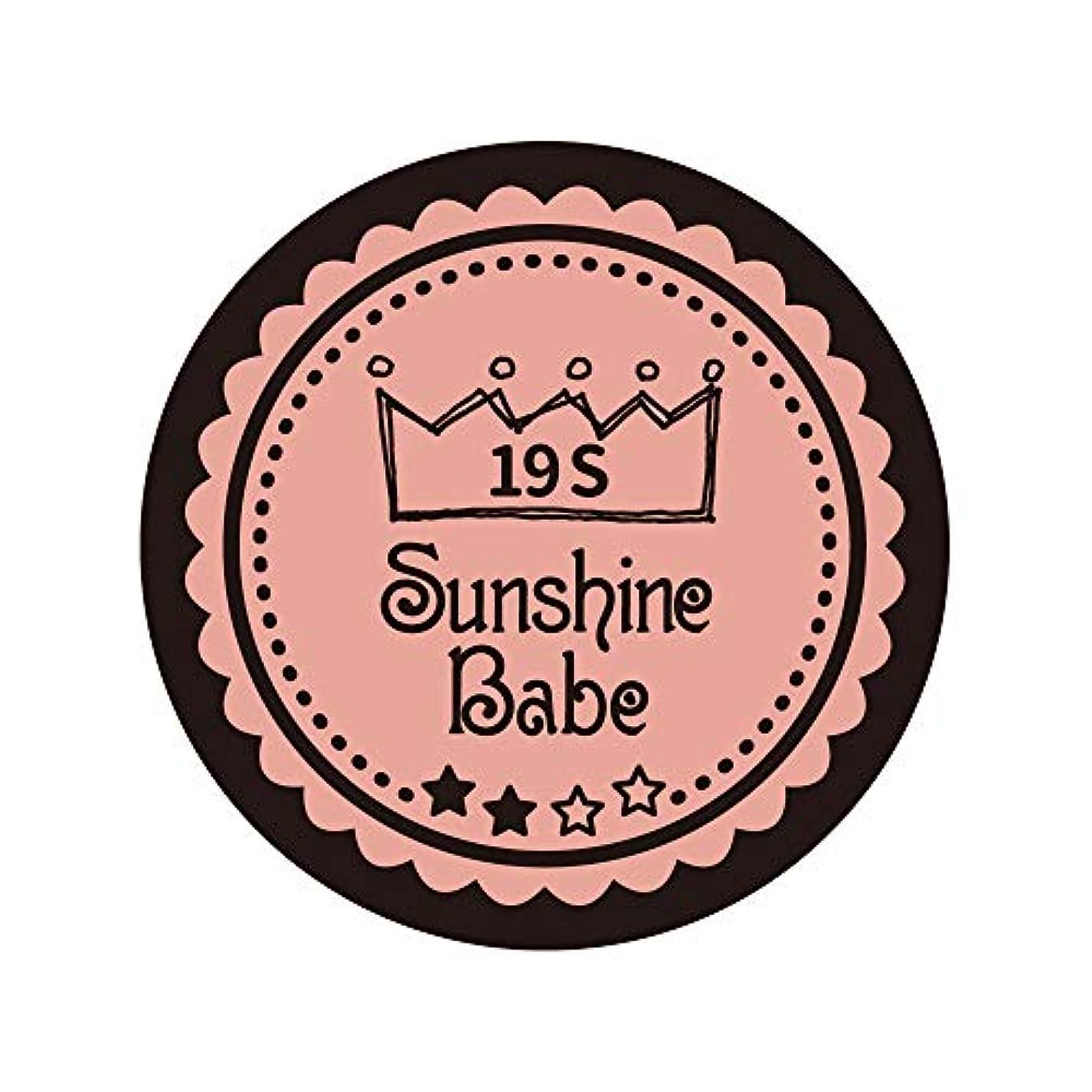 禁じるフェローシップゾーンSunshine Babe カラージェル 19S ローズカシュ 2.7g UV/LED対応