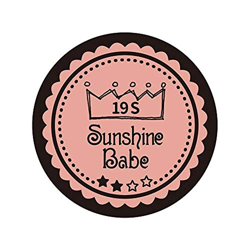 慣れる編集者イブSunshine Babe カラージェル 19S ローズカシュ 2.7g UV/LED対応