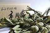 江戸時代から続く老舗の笹だんご10個セット つぶあんのみ 保存料不使用で急速冷凍した老舗の笹だんご 市川屋