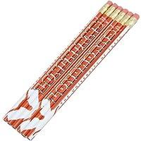 Texas Longhorns 6パックチームロゴ鉛筆セット