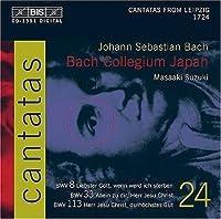 Bach: Cantatas, Vol 24 (BWV 8, 33, 113) /Bach Collegium Japan * Suzuki (2004-01-01)