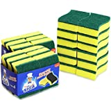 MR. SIGA Heavy Duty Scrub Sponge 24 Count Size:11 x 7 x 3cm 4.3 x 2.8 x 1.2