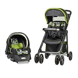 evenflo バイブ・エリート・トラベルシステム (A型ベビーカー+乳児用ベビーシート) 55411811 リナス