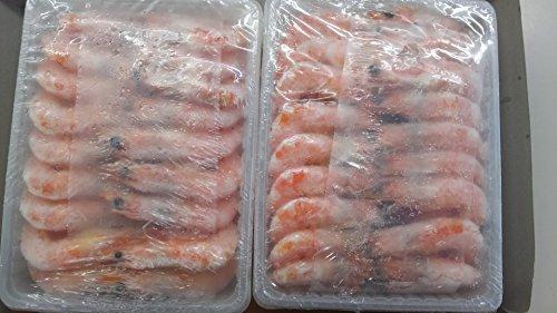 有頭 グルムキ 海老 21-25 1kg ( 66尾 ) ボイルえび 解凍後そのままお召し上がり頂けます。 中むき