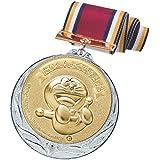 ドラえもん メダル 銀 称賛 直径70mm 日本製 DRZ-2005S
