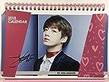 JUNGKOOK (ジョングク - 防弾少年団 (BTS))/2018年-2019年 卓上カレンダー+ポストカード12枚(+α)セット - 2018-2019 Desk Calendar + Post Card 12sheets(+α) Set(K-POP/韓国製)