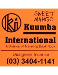 KUUMBA / クンバ『incense』(SWEET MANGO) (Regular size)