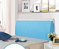 スポンジベッドヘッドボード背もたれクッションラージソフトクロスバッグロング三角枕クッション洗えるベッド ( 色 : E , サイズ さいず : Xl xl )