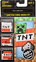 Mattel(マテル) マインクラフト クラフトキューブ デザインキット クリーパーセット KIT1